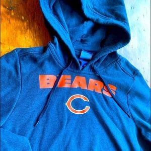 Nike Youth Chicago Bears Navy Hoodie Sweatshirt M